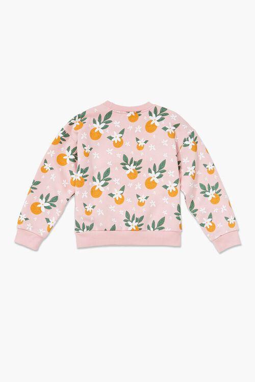 Girls Fruit Print Pullover (Kids), image 2