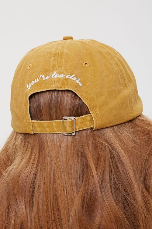 Too Close Embroidered Dad Cap, image 2