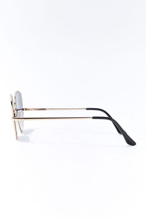 Round Tinted Metal Sunglasses, image 2