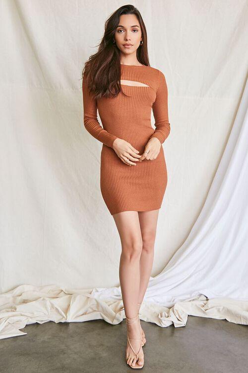COFFEE Super Cropped Top & Mini Dress Set, image 4