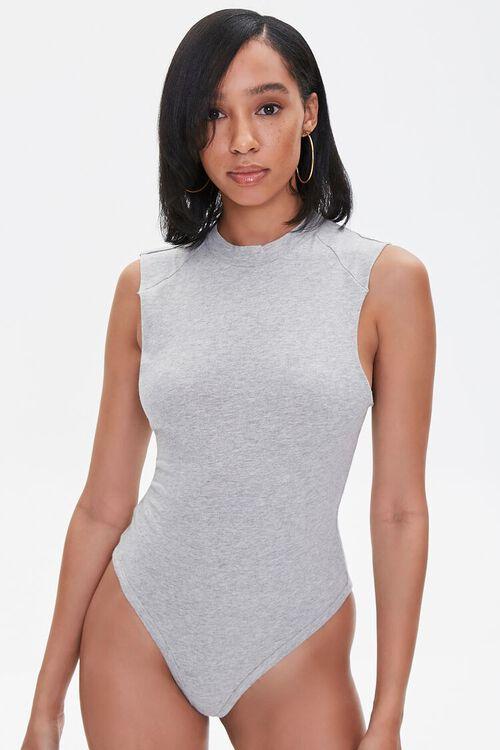 Sleeveless High-Neck Bodysuit, image 5