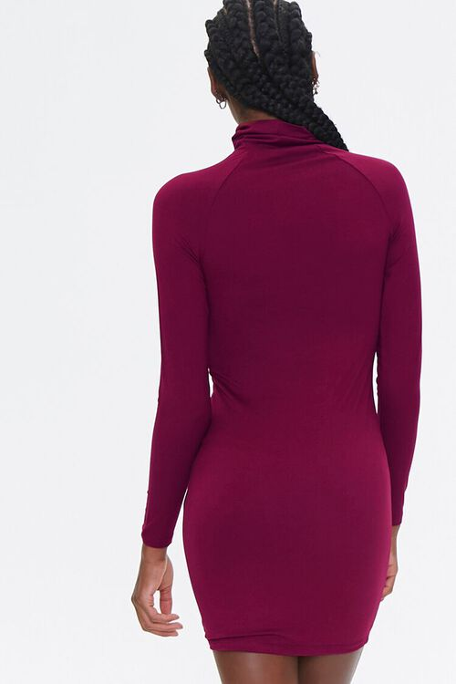 Turtleneck Bodycon Dress, image 3