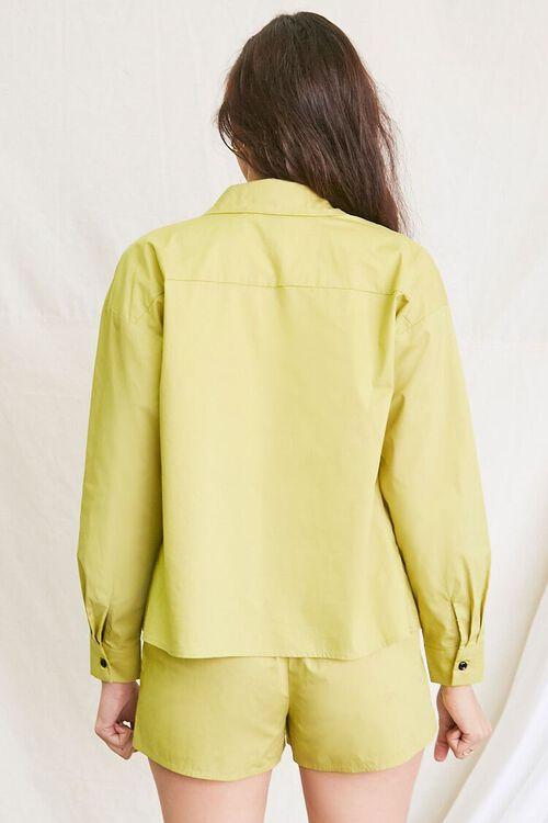 OLIVE Pocket Shirt & Drawstring Shorts Set, image 3