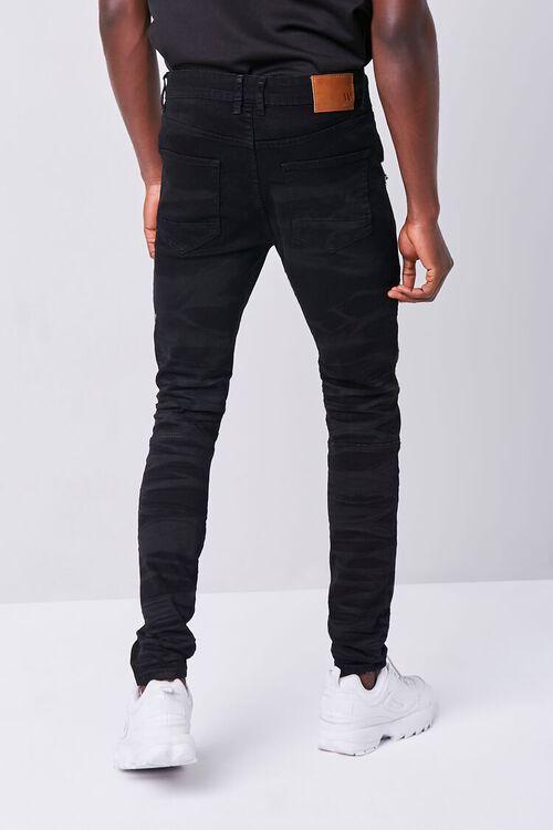 Waimea Distressed Moto Jeans, image 4