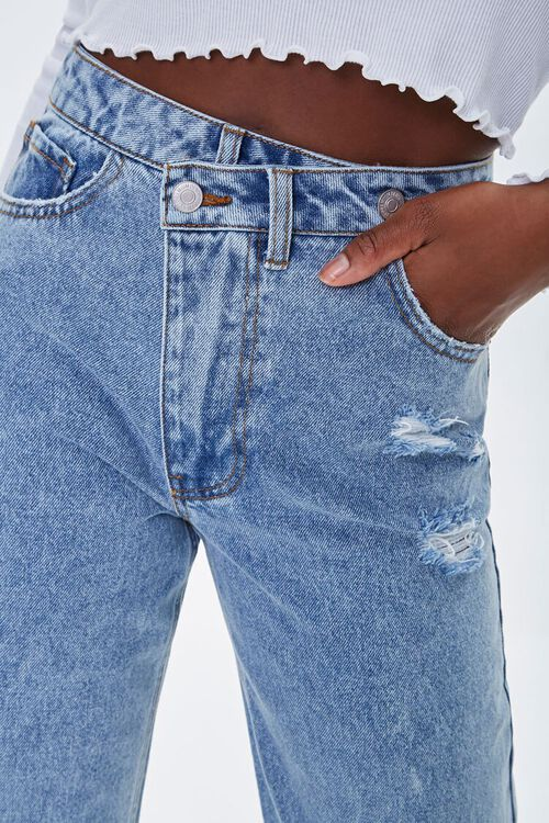 Crisscross High-Rise Straight Jeans, image 6