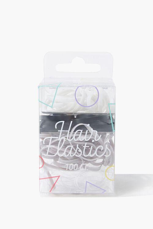 Hair Elastics Pack - 100 ct, image 1