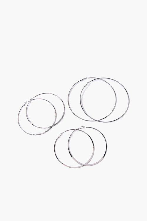 Oversized Hoop Earring Set, image 1