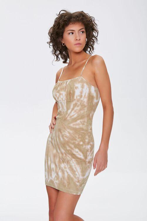 Tie-Dye Mini Cami Dress, image 1