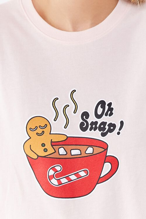 Gingerbread Graphic Pajama Set, image 6