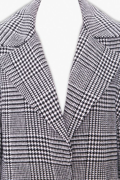 Glen Plaid Longline Coat, image 4