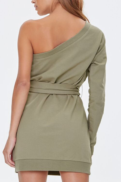 One-Shoulder Mini Dress, image 3