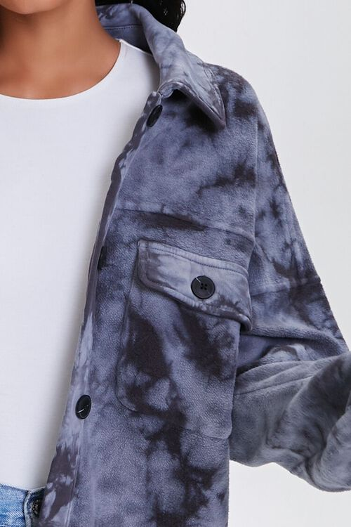 Tie-Dye Fleece Shacket, image 6