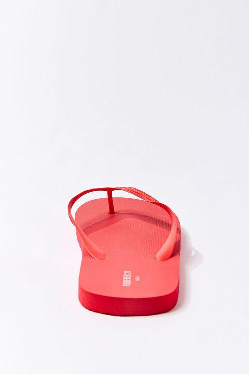 RED Men Flip-Flop Thong Sandals, image 3