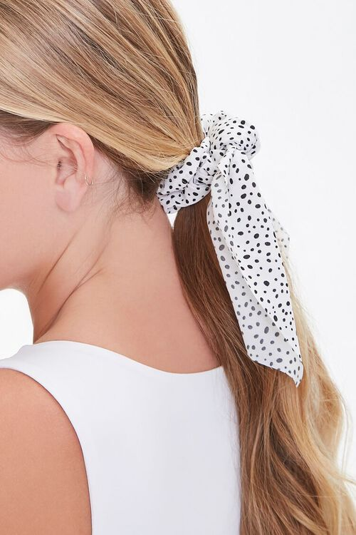 Spotted Bow Scrunchie, image 2