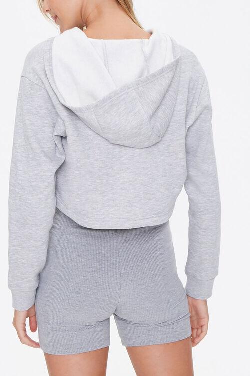 Active Cropped Half-Zip Hoodie, image 3