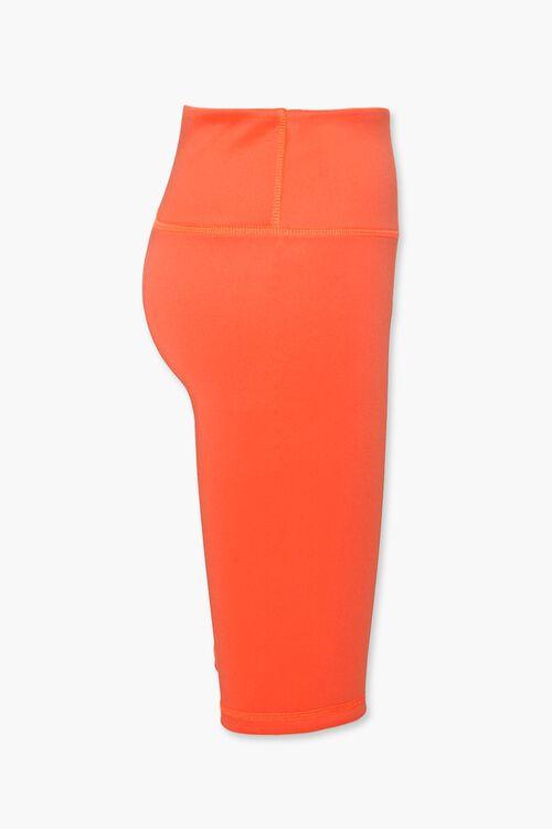 ORANGE High-Rise Biker Shorts, image 2