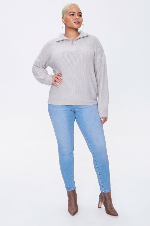 Plus Size Sweater-Knit Pullover, image 4