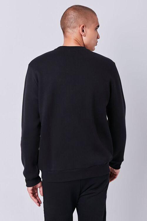 Fleece Crew Neck Sweatshirt, image 3