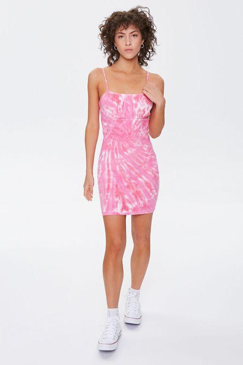 Tie-Dye Mini Cami Dress, image 4