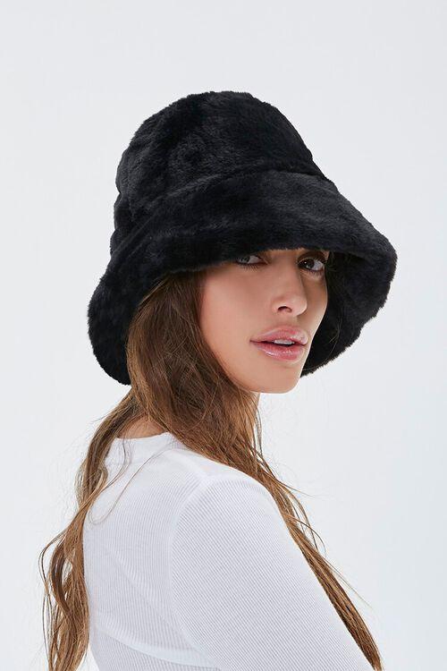Plush Bucket Hat, image 1