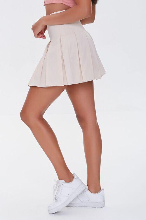 Pleated A-Line Mini Skirt, image 3