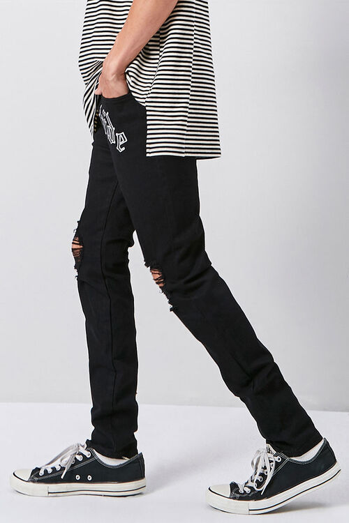 Worldwide Graphic Skinny Jeans, image 3
