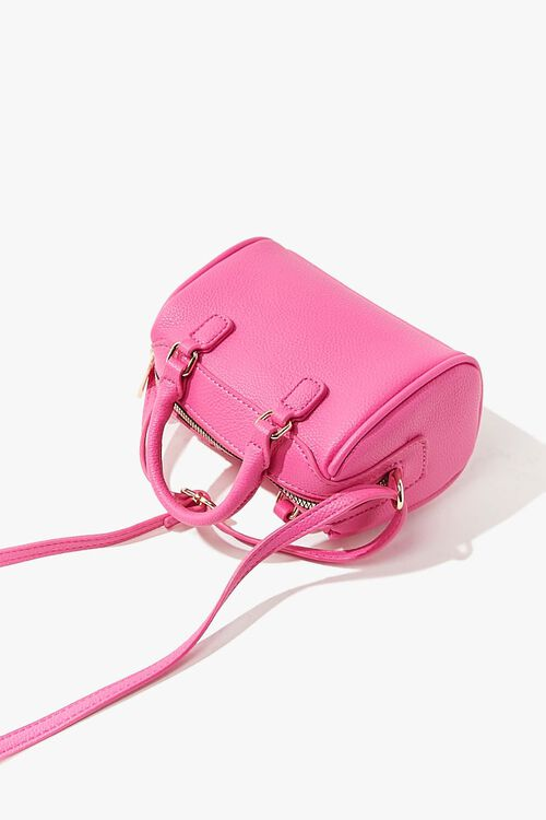 Faux Leather Crossbody Bag, image 3