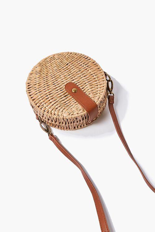 Basket-Woven Crossbody Bag, image 4