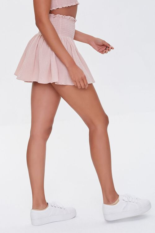 Smocked Mini Skirt, image 3