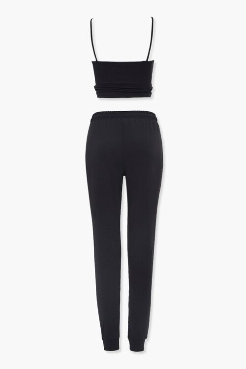 Cropped Cami & Joggers Set, image 3