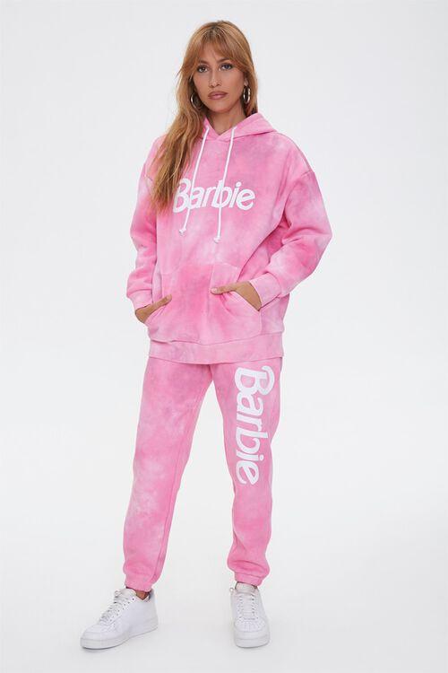 PINK/MULTI Tie-Dye Barbie™ Hoodie, image 5
