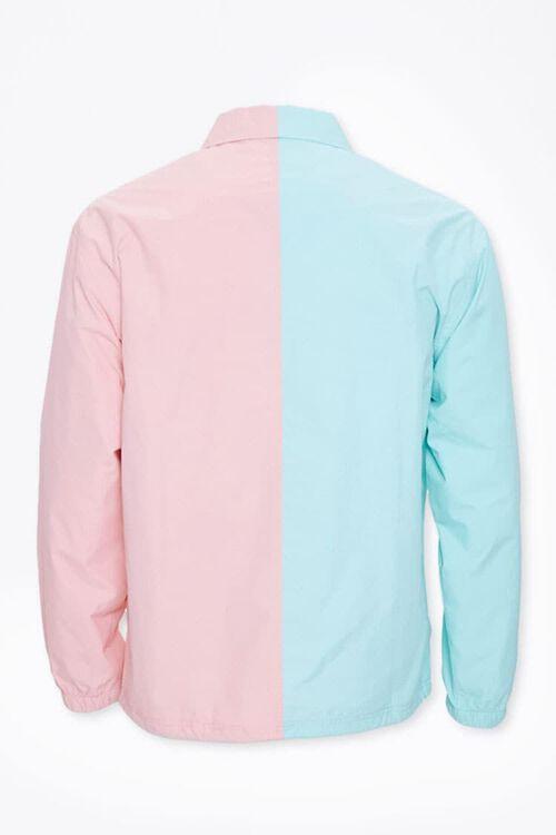 Colorblock Graphic Coach Jacket, image 3