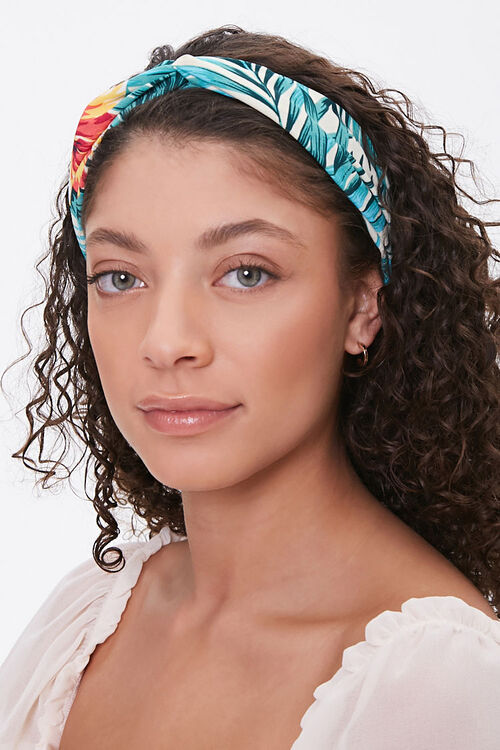 Tropical Twist-Front Headwrap, image 1