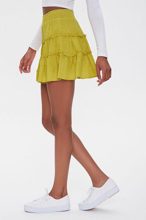 Tiered Clip Dot Mini Skirt, image 3