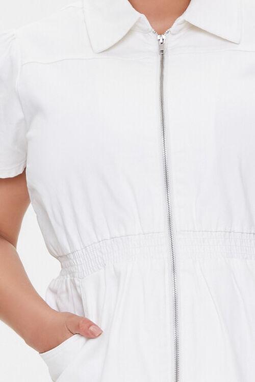 Plus Size Denim Mini Dress, image 5