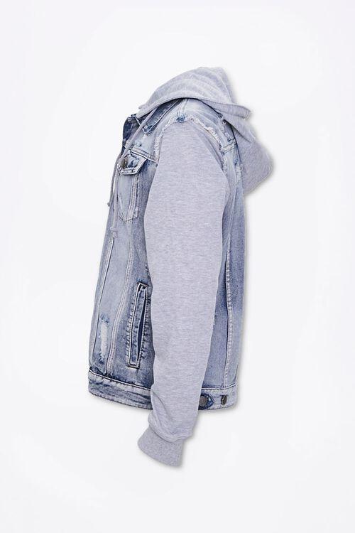 Distressed Denim Combo Jacket, image 2