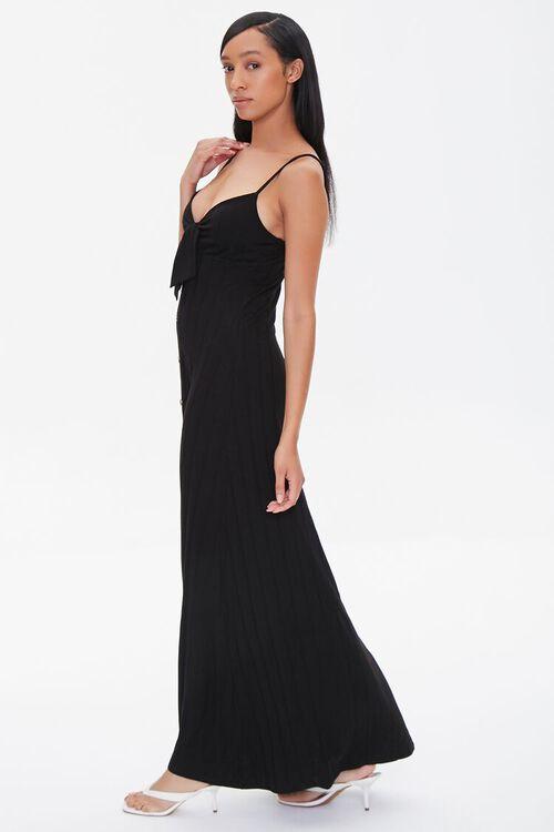 Ribbed Bow-Front Cami Maxi Dress, image 2