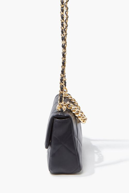 Quilted Faux Leather Crossbody Bag, image 4