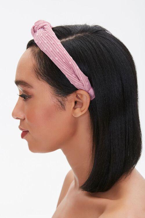 Crinkled Knotted Headband, image 3