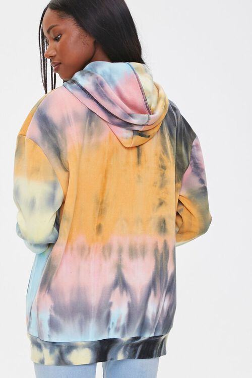 Tie-Dye Zip-Up Hoodie, image 3