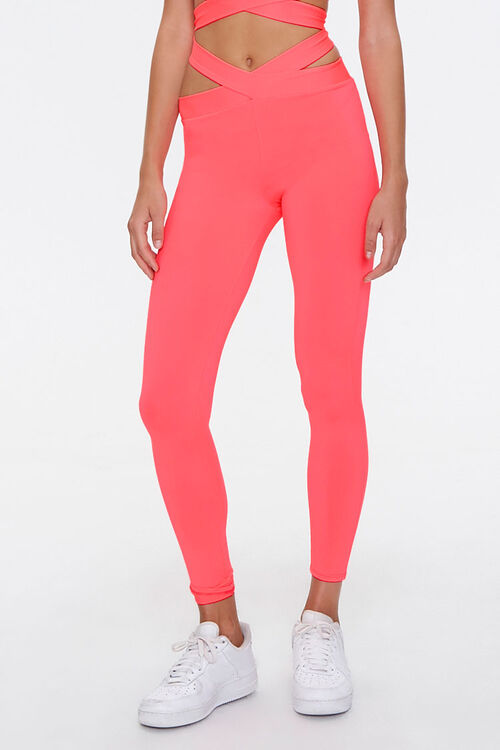 Active Crisscross Cutout Leggings, image 2