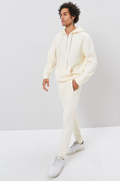Drawstring Fleece Joggers, image 1