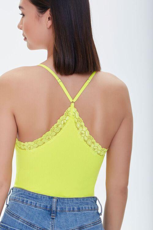 Seamless Lace-Trim Bodysuit, image 3