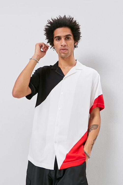 Classic Fit Colorblock Shirt, image 1