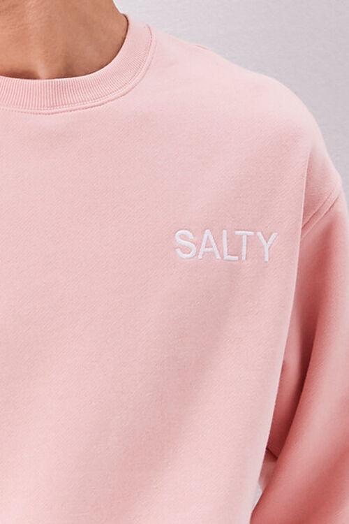 Salty Embroidered Graphic Fleece Sweatshirt, image 5