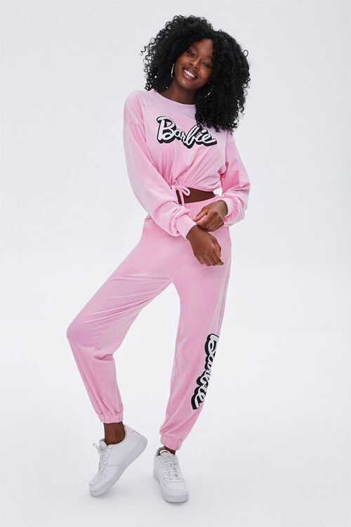 Velour Barbie™ Joggers, image 1
