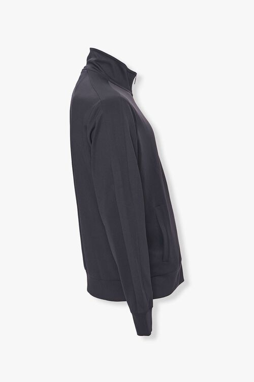 Striped-Trim Zip-Up Jacket, image 2