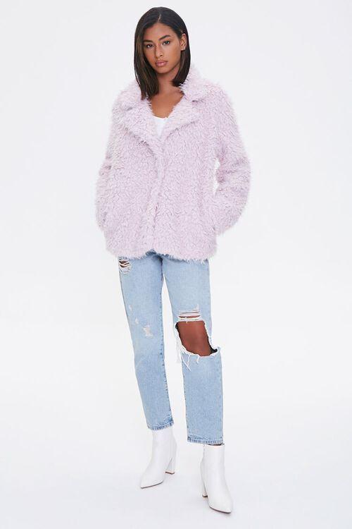 Shaggy Faux Fur Coat, image 4