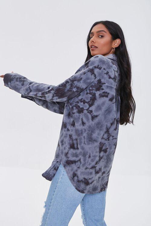 Tie-Dye Fleece Shacket, image 2