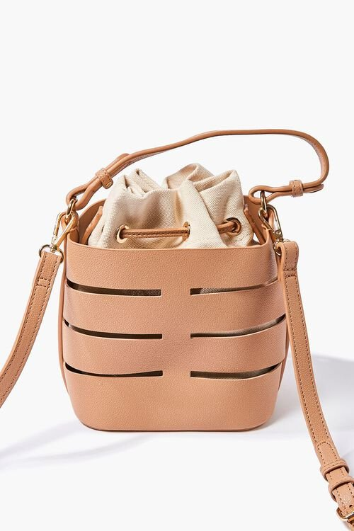 Caged Crossbody Bucket Bag, image 2